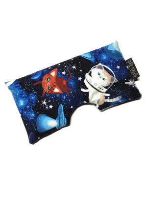 Relaxation Eye Pillow - Galactacat! - Quilter's Cotton