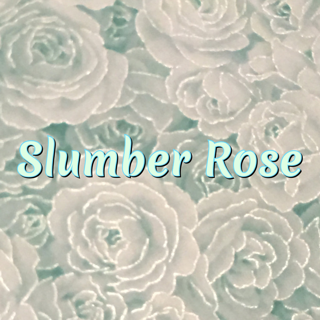 Custom Order - Slumber Rose - Quilter's Cotton With Metallic Accents