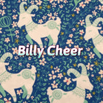 Limited Edition! Billy Cheer - Performance Piqué - Featuring Ivory Windpro Back and Flower Snaps!