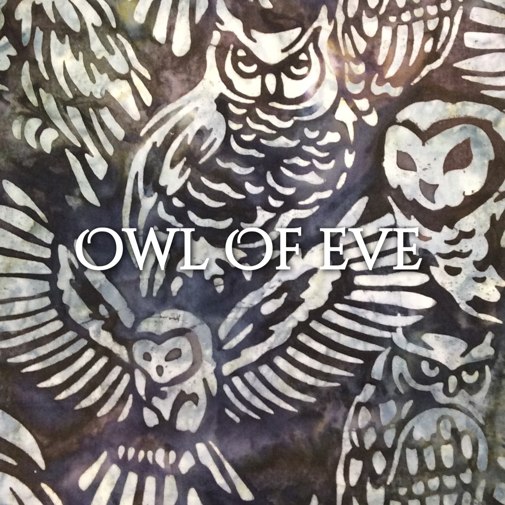 Owl of Eve - Quilter's Cotton