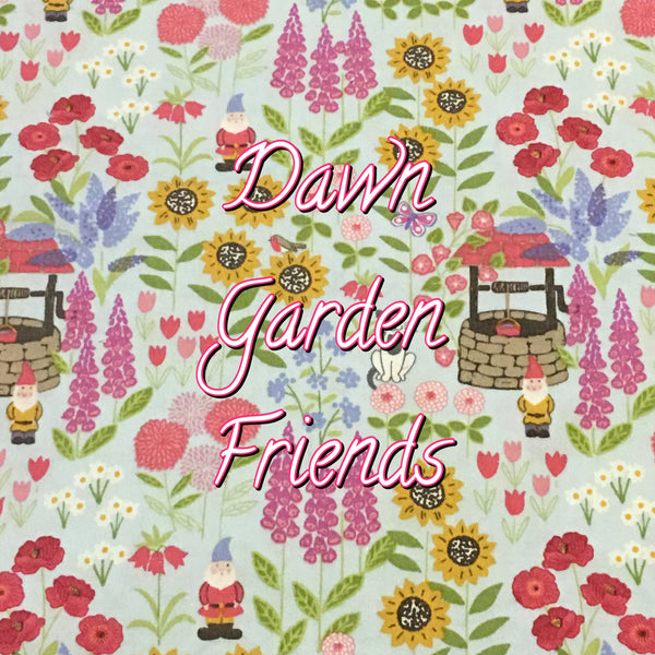 Custom Order - Dawn Garden Friends - Quilter's Cotton