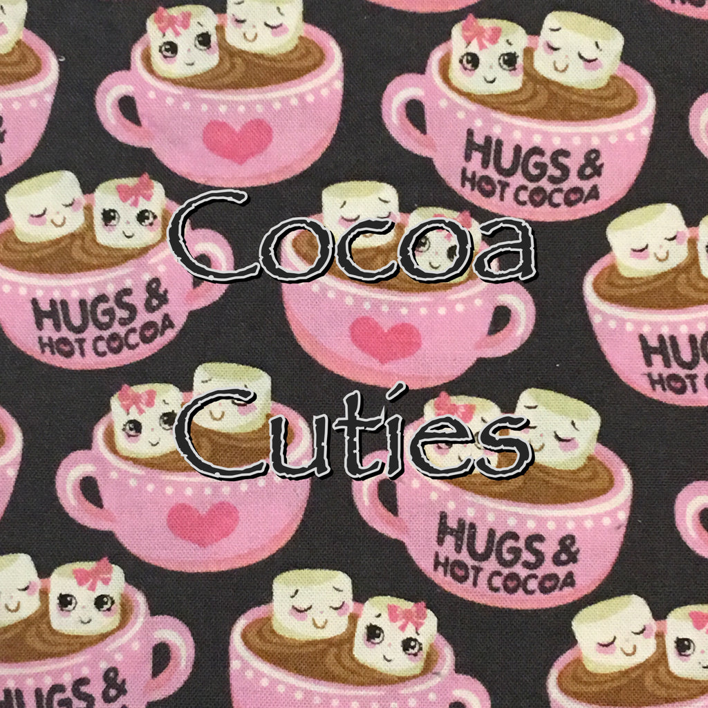 Custom Order - Cocoa Cuties - Quilter's Cotton