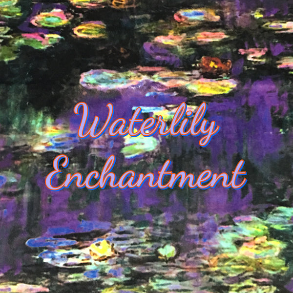Custom Order - Waterlily Enchantment - Specialty Minky Print