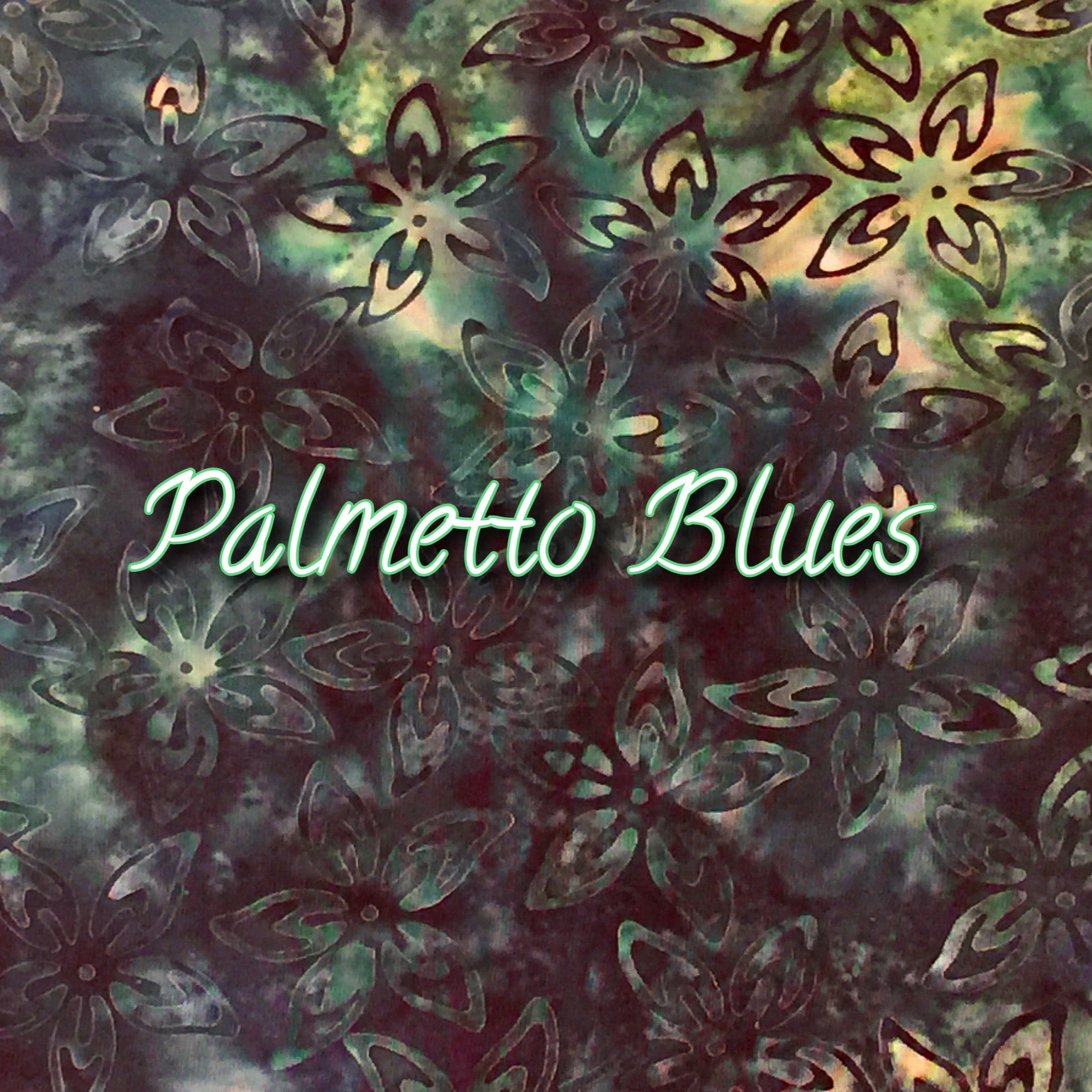 Palmetto Blues - Quilter's Cotton