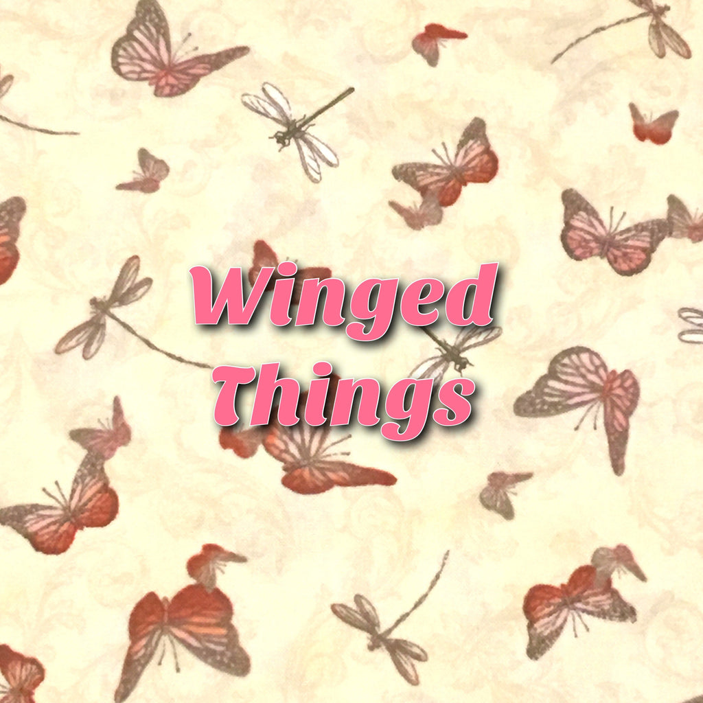 Custom Order - Quilter's Cotton - Winged Things