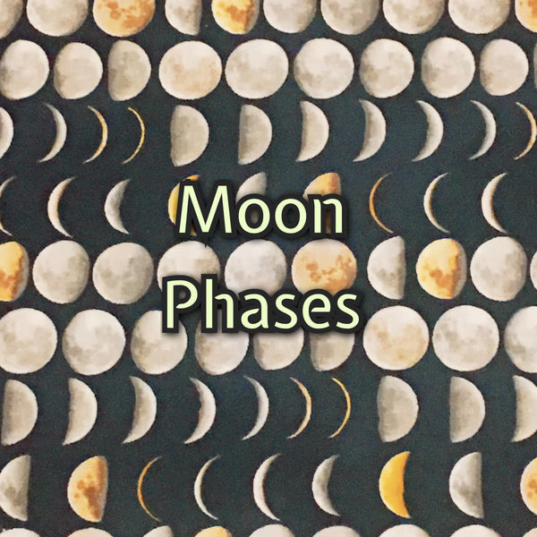 Custom Order - Quilter's Cotton - Moon Phases
