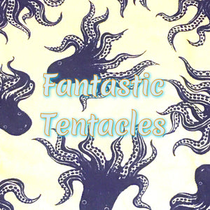 Fantastic Tentacles - Quilter's Cotton