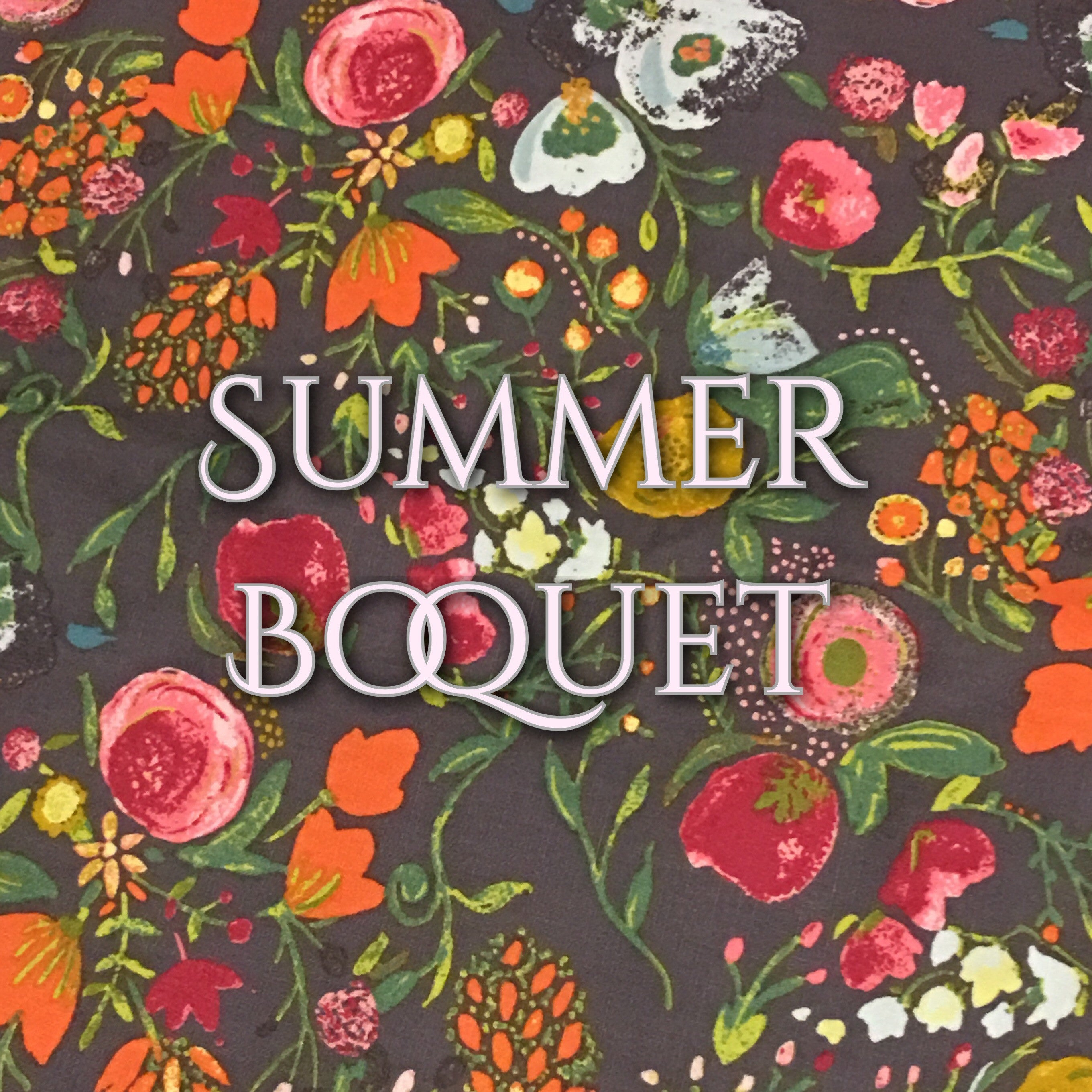 Summer Boquet - Quilter's Cotton
