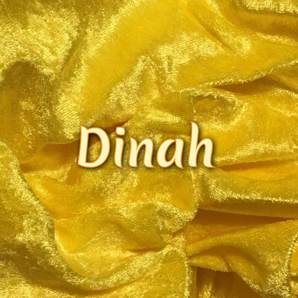 Custom Order - Luxury Crushed Velvet - Dinah