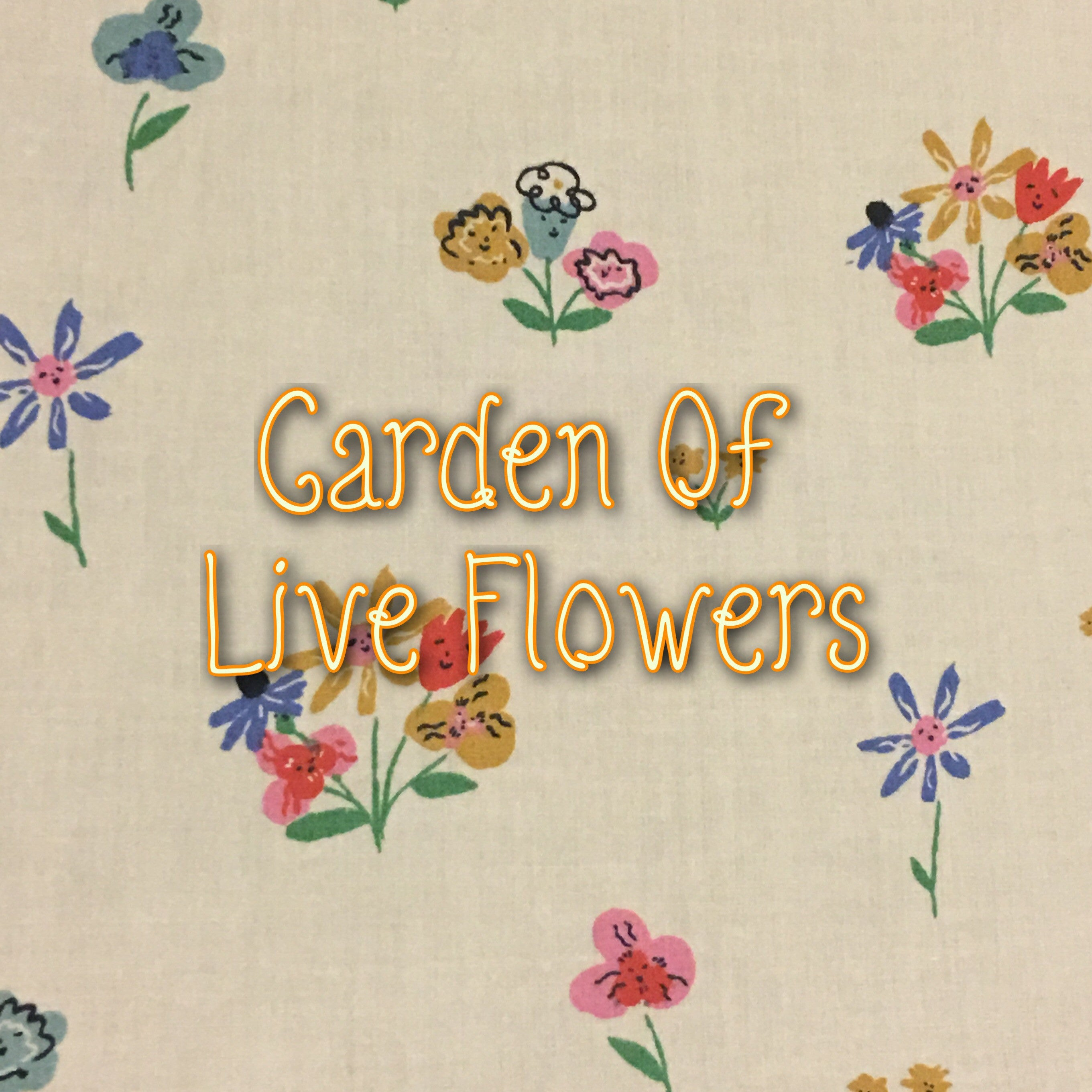Garden of Live Flowers - Quilter's Cotton