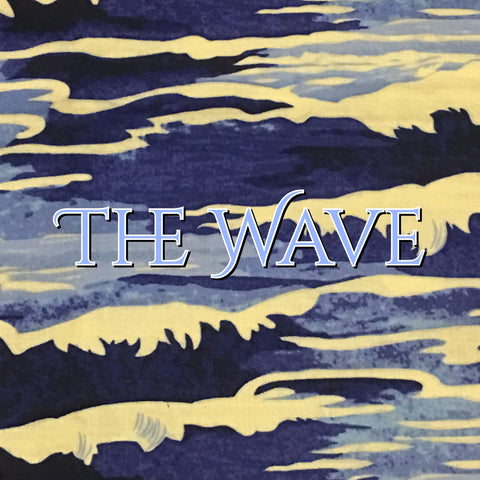 Custom Order - The Wave - Quilter's Cotton