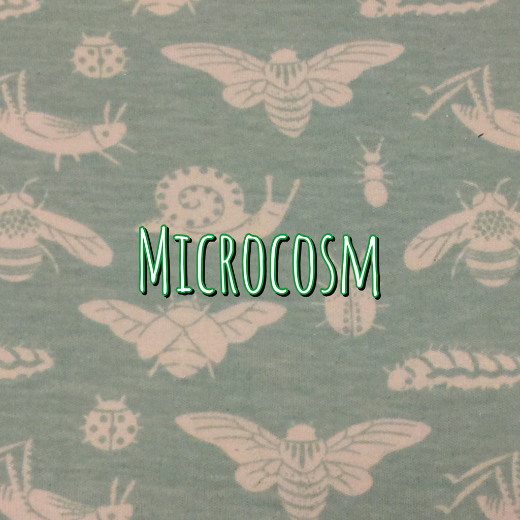 Organic Cotton Knit - Microcosm