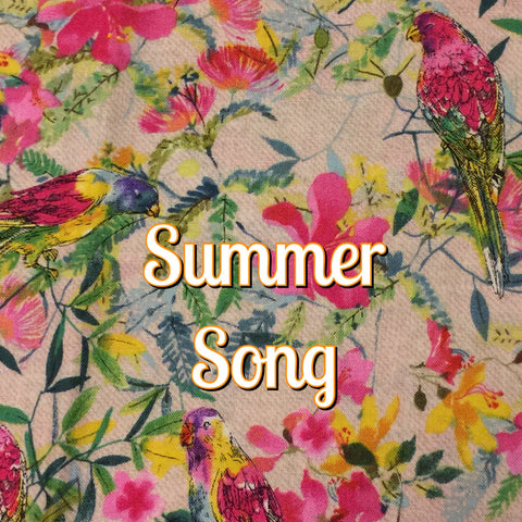 Custom Order - Summer Song - Quilter's Cotton