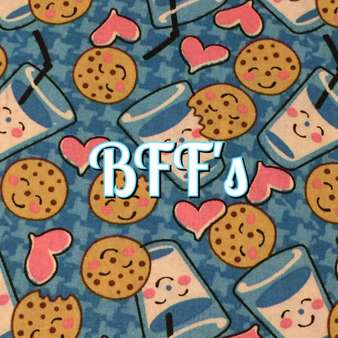 Custom Order - BFF's - Quilter's Cotton