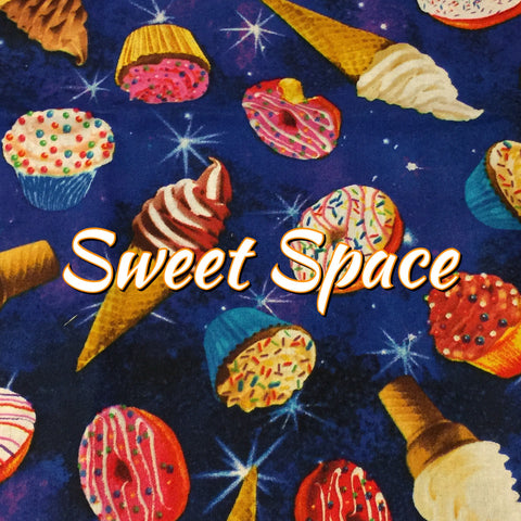 Sweet Space - Quilter's Cotton