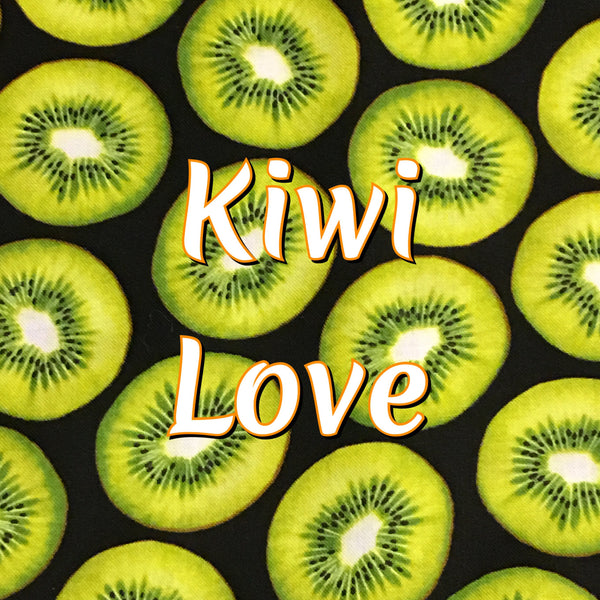 Custom Order - Kiwi Love - Quilter's Cotton