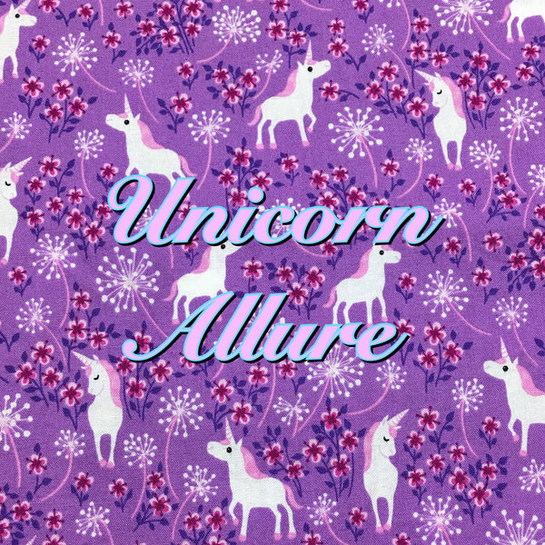 Custom Order - Unicorn Allure - Quilter's Cotton