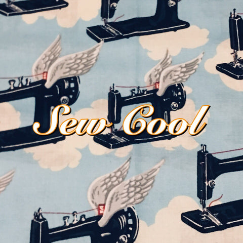 Custom Order - Sew Cool - Quilter's Cotton