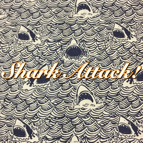 Custom Order - Shark Attack! - Quilter's Cotton