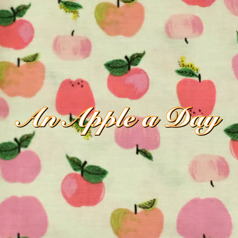 Custom Order - An Apple a Day - Quilter's Cotton