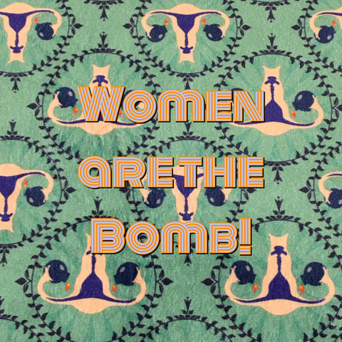 Custom Order - Women are the Bomb! - Specialty Minky Print
