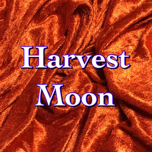 Harvest Moon Featuring Glow in the Dark Snaps! - Luxury Crushed Velvet