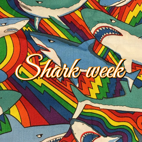 Custom Order - Shark Week! - Quilter's Cotton