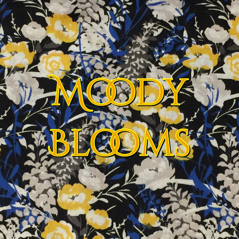 Custom Order - Moody Blooms - Quilter's Cotton