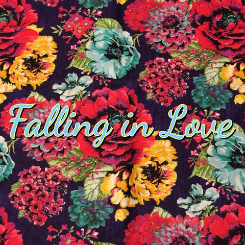 Custom Order - Falling in Love - Quilter's Cotton