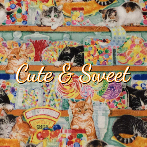 Custom Order - Cute & Sweet - Quilter's Cotton