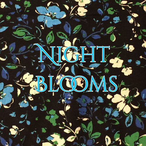 Custom Order - Night Blooms - Quilter's Cotton