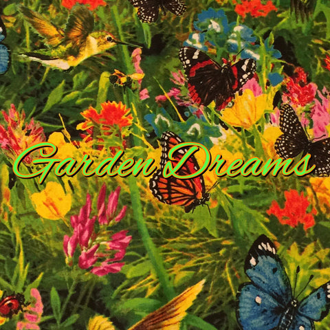 Custom Order - Garden Dreams - Quilter's Cotton