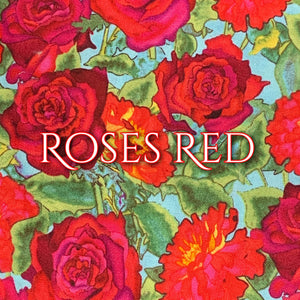 Roses Red - Quilter's Cotton