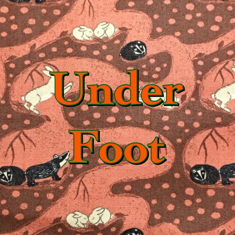 Custom Order - Under Foot - Quilter's Cotton