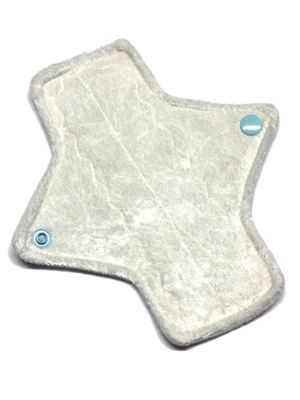 ***LIMITED EDITION!*** 7 Inch Light Absorbency Luxury Crushed Velvet Topped Pad in *Pegasus*