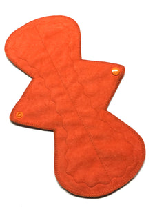 11 Inch Curve Ultra Thin Suedecloth NINJA Pad (moderate-heavy) Absorbency in Flame