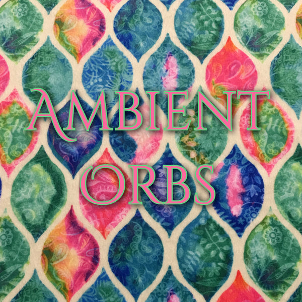 Custom Order - Newly Available! Specialty Minky - Ambient Orbs