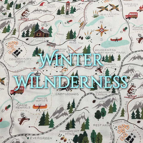 Custom Order - Winter Wilderness - Quilter's Cotton