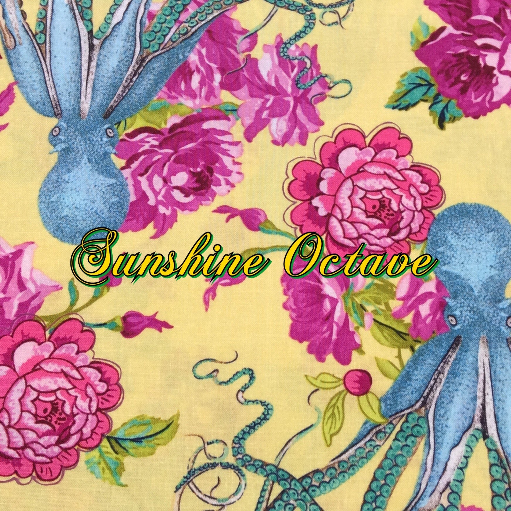 Sunshine Octave - Quilter's Cotton