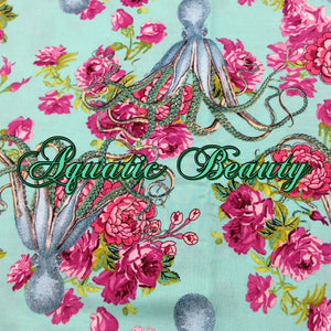 Aquatic Beauty - Quilter's Cotton