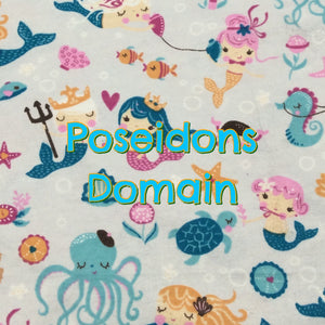 Poseidon's Domain - Cotton Flannel