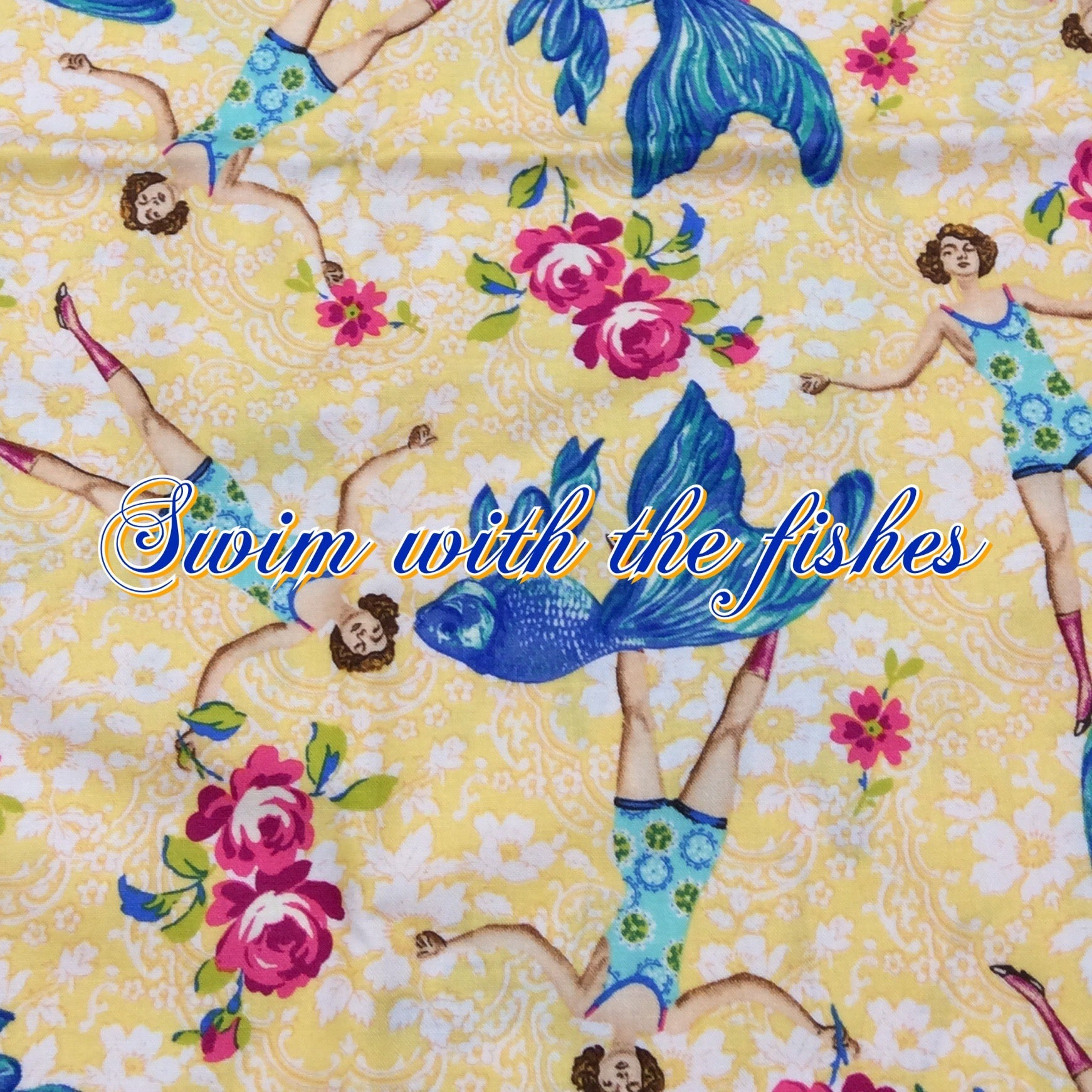 Swim With the Fishes - Quilter's Cotton