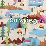 Camping - Quilter's Cotton