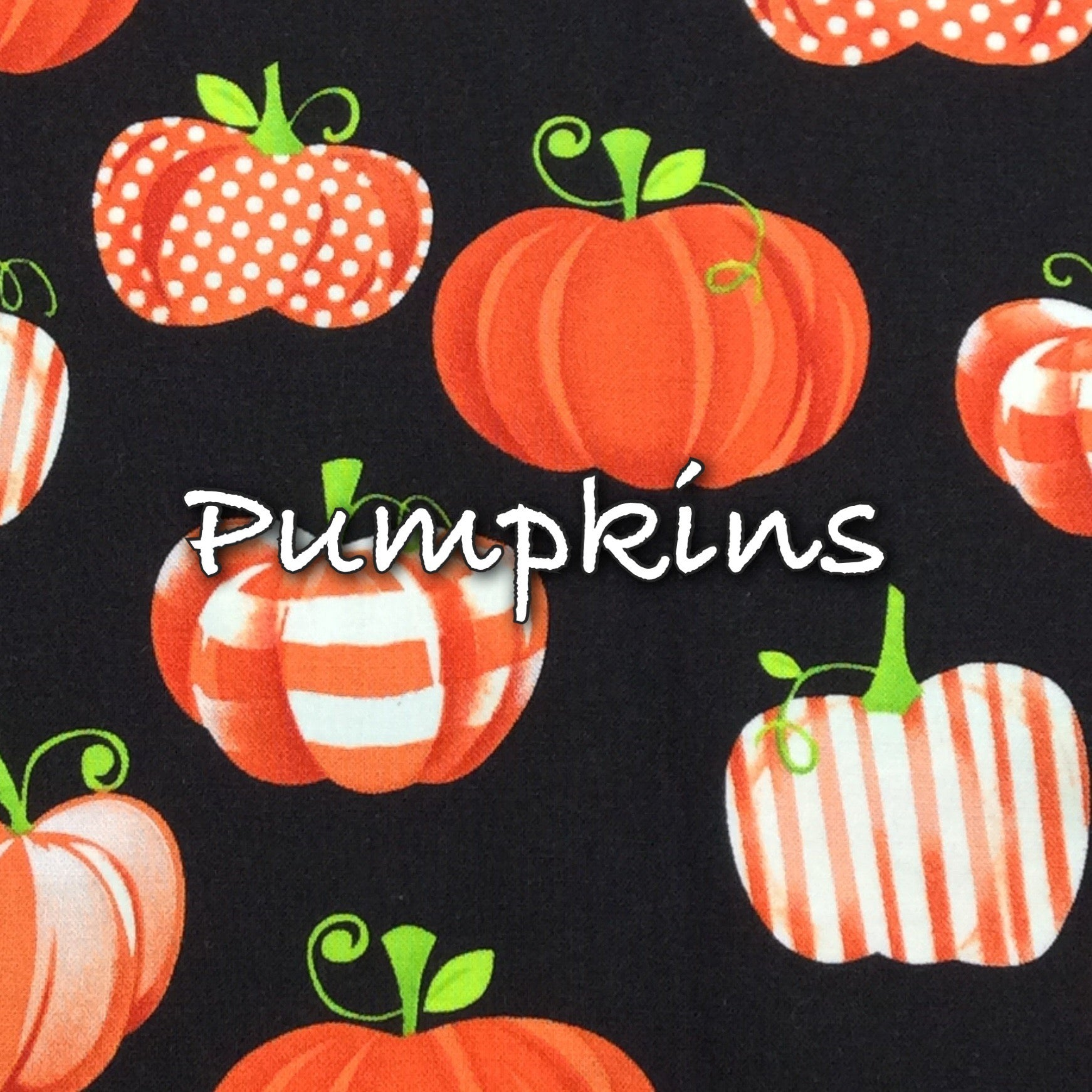 Pumpkins - Quilter's Cotton