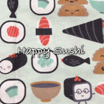 Happy Sushi - Cotton Flannel