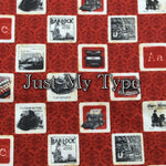 Just My Type - Quilter's Cotton
