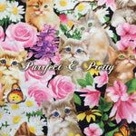 Purrfect & Pretty - Quilter's Cotton