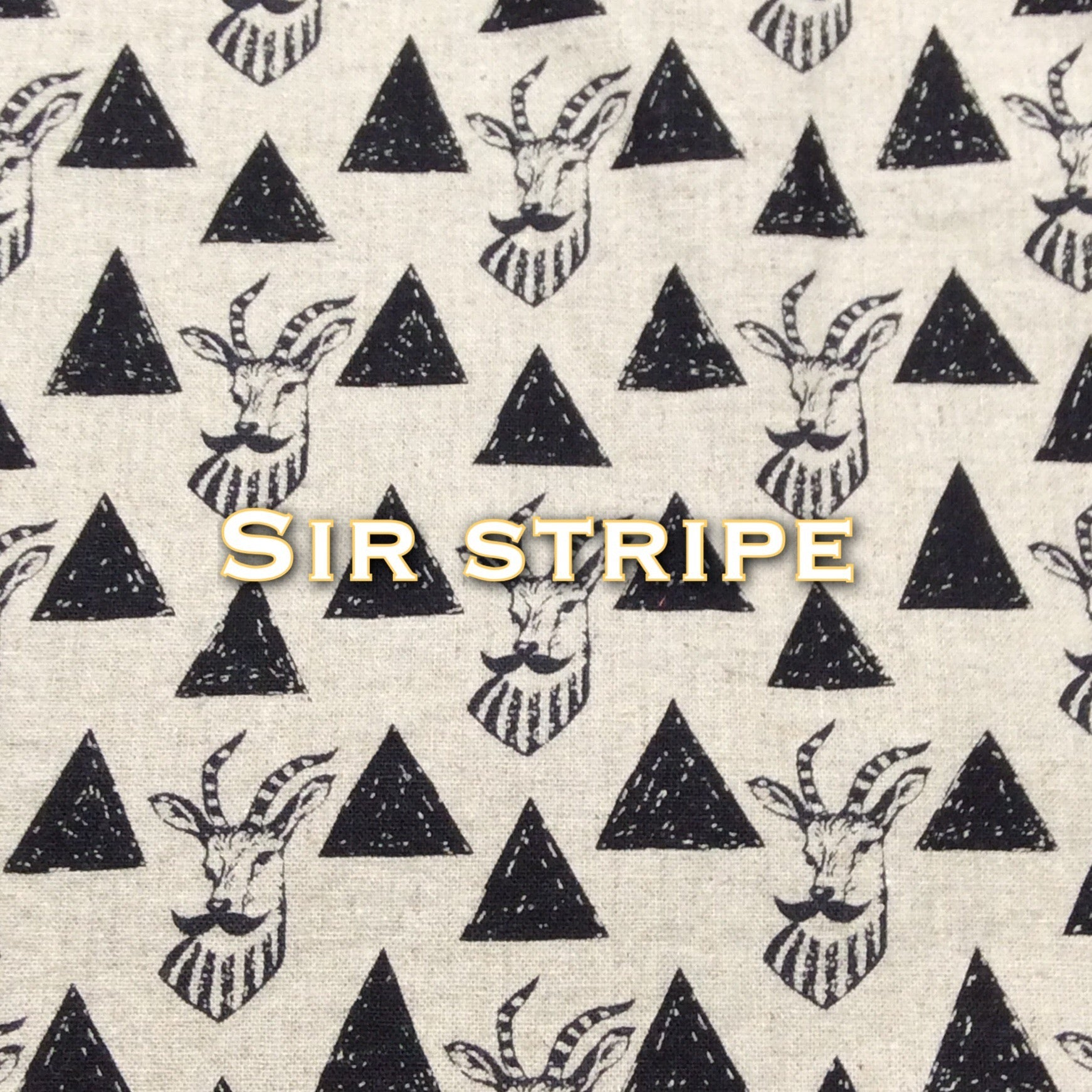 Sir Stripe - Cotton Linen