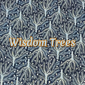Wisdom Trees - Organic Quilter's Cotton