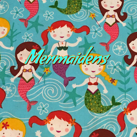 Custom Order - Mermaidens - Quilter's Cotton